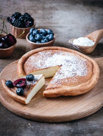 Puszysty omlet cesarski