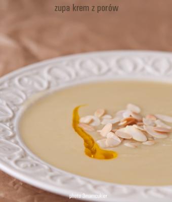 Zupa krem z porów