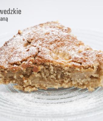 Ciasto szwedzkie z mąką owsianą