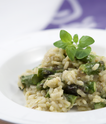 Risotto szparagowe