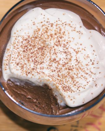 Mus czekoladowy z kremem Baileys