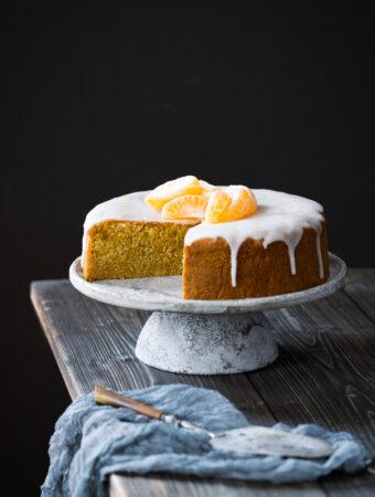 Ciasto mandarynkowe [bezglutenowe] [low FODMAP]