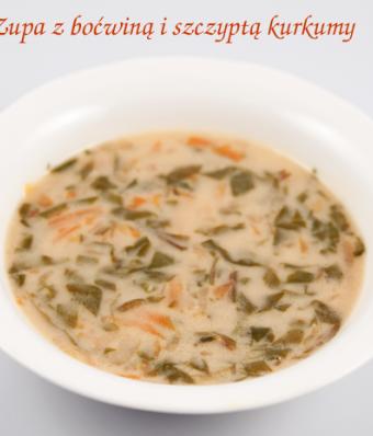 Zupa z boćwiną i szczyptą kurkumy