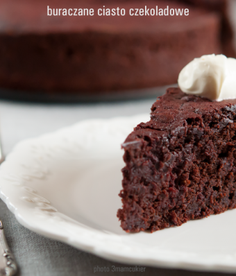 Buraczane ciasto czekoladowe