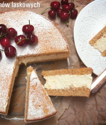 Ciasto z orzechów laskowych z ricottą