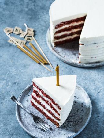 Bezglutenowe red velvet cake