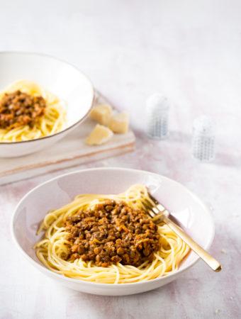 Soczewica alla bolognese
